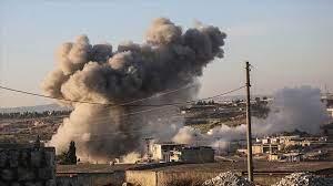 مقتل مدني وإصابة أخرين بقصف للطائرات الروسية على ريف ادلب